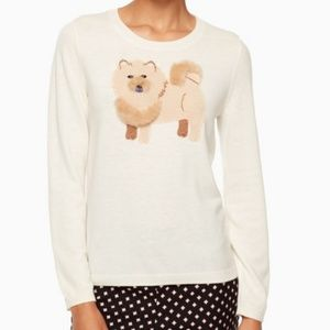 kate spade Chow Chow Sweater size small nwot